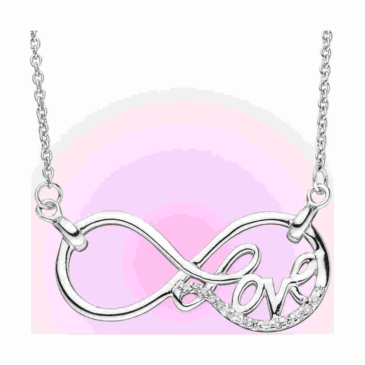 "Collier ""Endlees Love"" aus Sterling Silber"