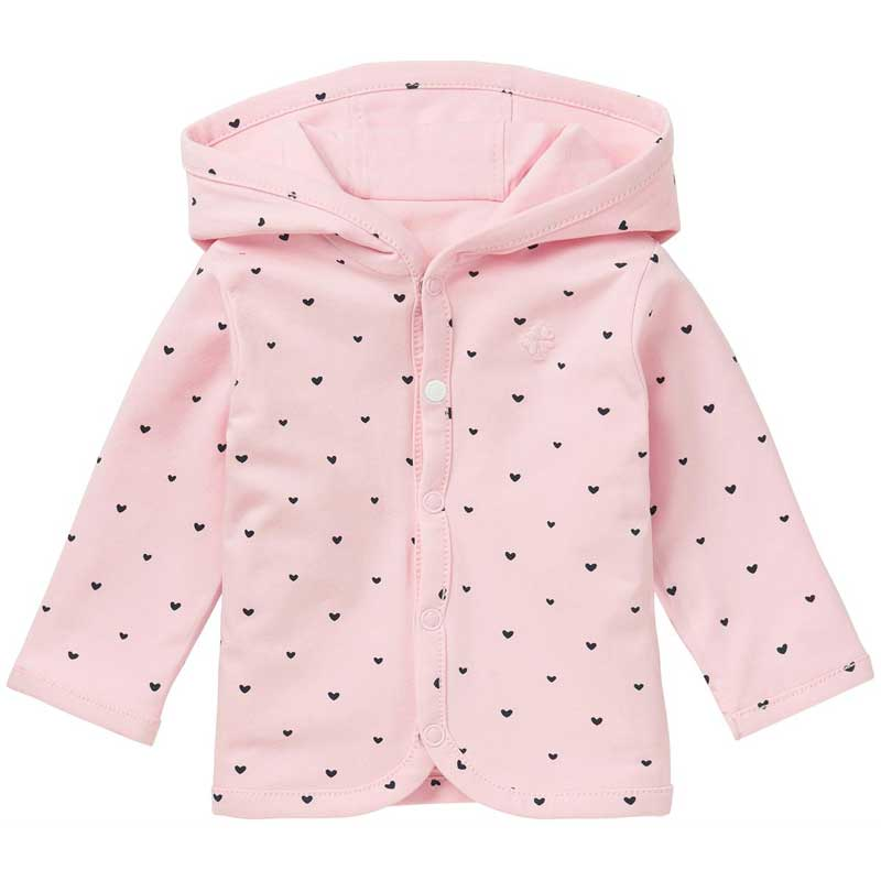 Baby-Wendejacke in Rosa von Noppies, Gr. 50 - 74
