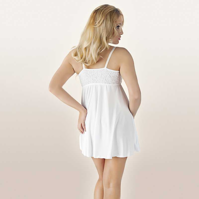 Andalea, Chemise weiss bis Gr. 56 lieferbar
