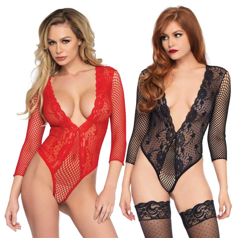 Leg Avenue Body Teddy Bodysuit