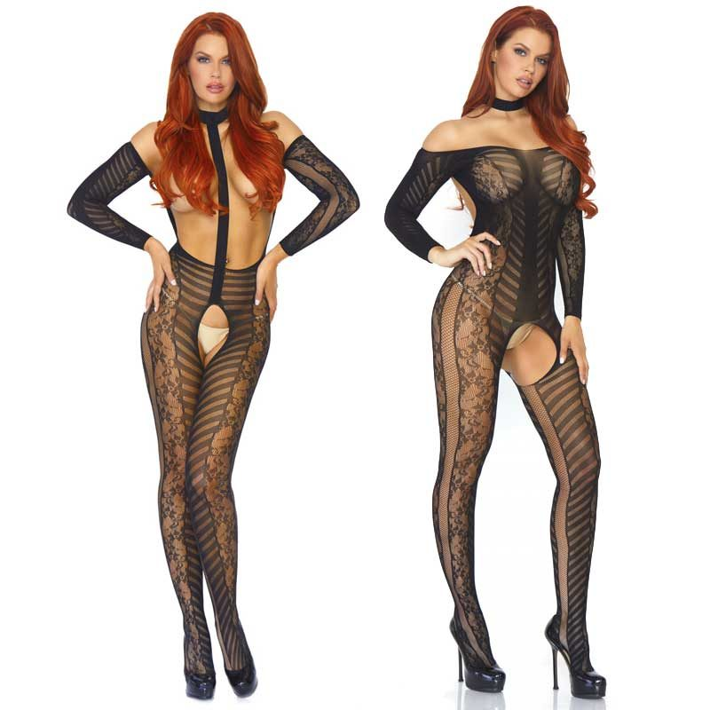 Leg Avenue Bodystocking overt 2in1